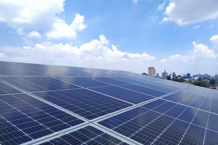 Nguyên lý làm việc điện mặt trời nhà xưởng