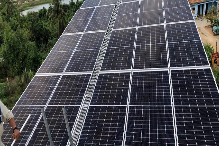 Báo giá lắp điện mặt trời tại hcm